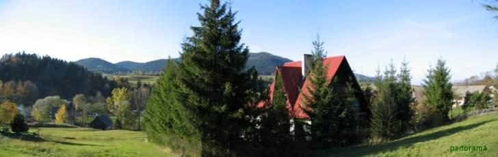 Jurków - Dom w małej górskiej miejscowości Jurków